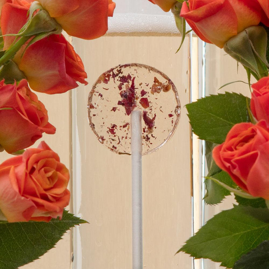 Champagne and Roses Lollipop
