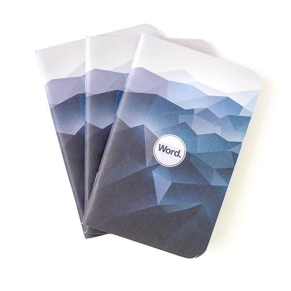 Blue Mountain Word Notebooks