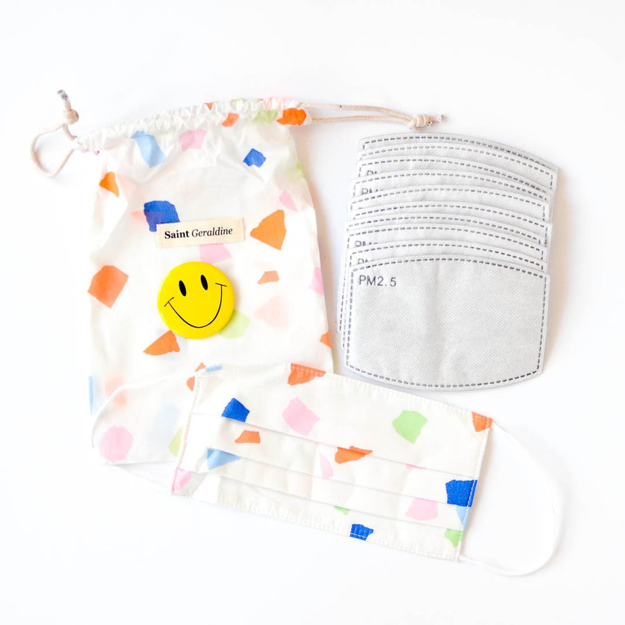 confetti face mask kit
