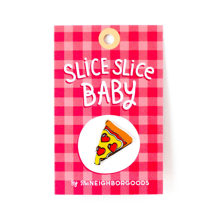 Pizza Heart Pin