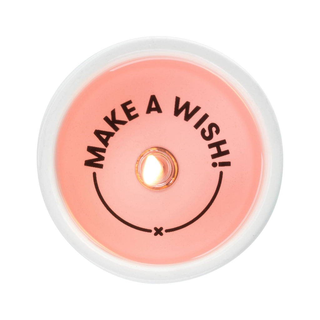 Make a Wish Secret Message Candle