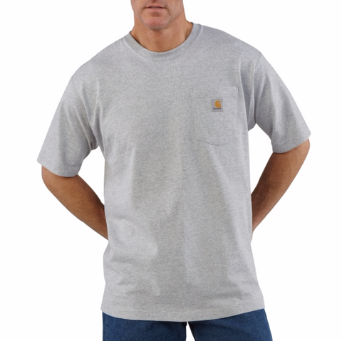 Men's Original Fit Cotton Jersey Knit Pocket T-Shirt-K87