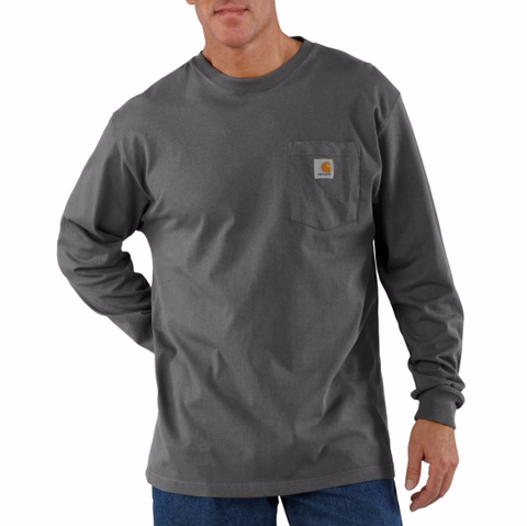Long Sleeve Workwear Pocket T-shirt-K126