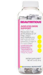 Beautritious™ Ageless Skin Support Drink Mix - Beautiful Nutrition - Made in the USA - 1
