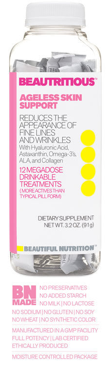 Beautritious™ Ageless Skin Support Drink Mix