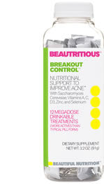 Beautritious Breakout Control Drink Mix - Beautiful Nutrition - Made in the USA - 1