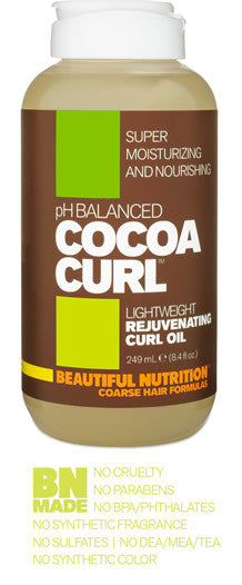 Cocoa Curl Rejuvenating Curl Oil