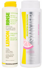 Lemon Rinse and Skinny Whip Summer Special - Beautiful Nutrition - Made in the USA - 1