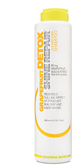 Grapefruit Detox Shine Repair Shampoo - Beautiful Nutrition - Made in the USA - 1
