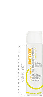 Grapefruit Detox Shine Repair Conditioner Travel Size - Beautiful Nutrition - Made in the USA - 1