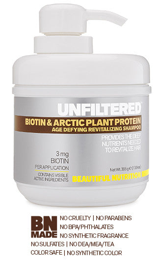 Biotin & Arctic Plant Protein Age Defying Revitalizing Shampoo
