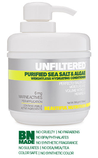 Purified Sea Salt & Algae Weightless Hydrating Conditioner