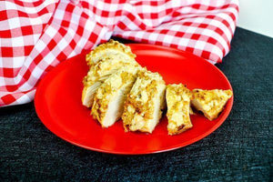 Mayo Parmesan Baked Chicken