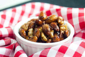 Cinnamon Almonds and Pecans