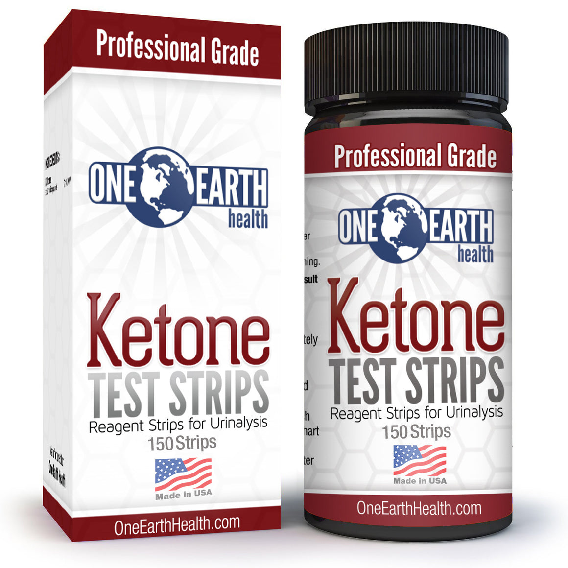 Ketone Strips (USA Made, 150 Count)