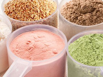 Various Supplement Powders