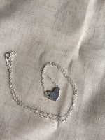 personalized Heart Charm Choker Necklace