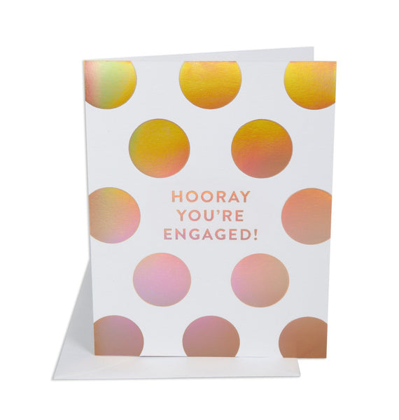 Hooray You're Engaged Card