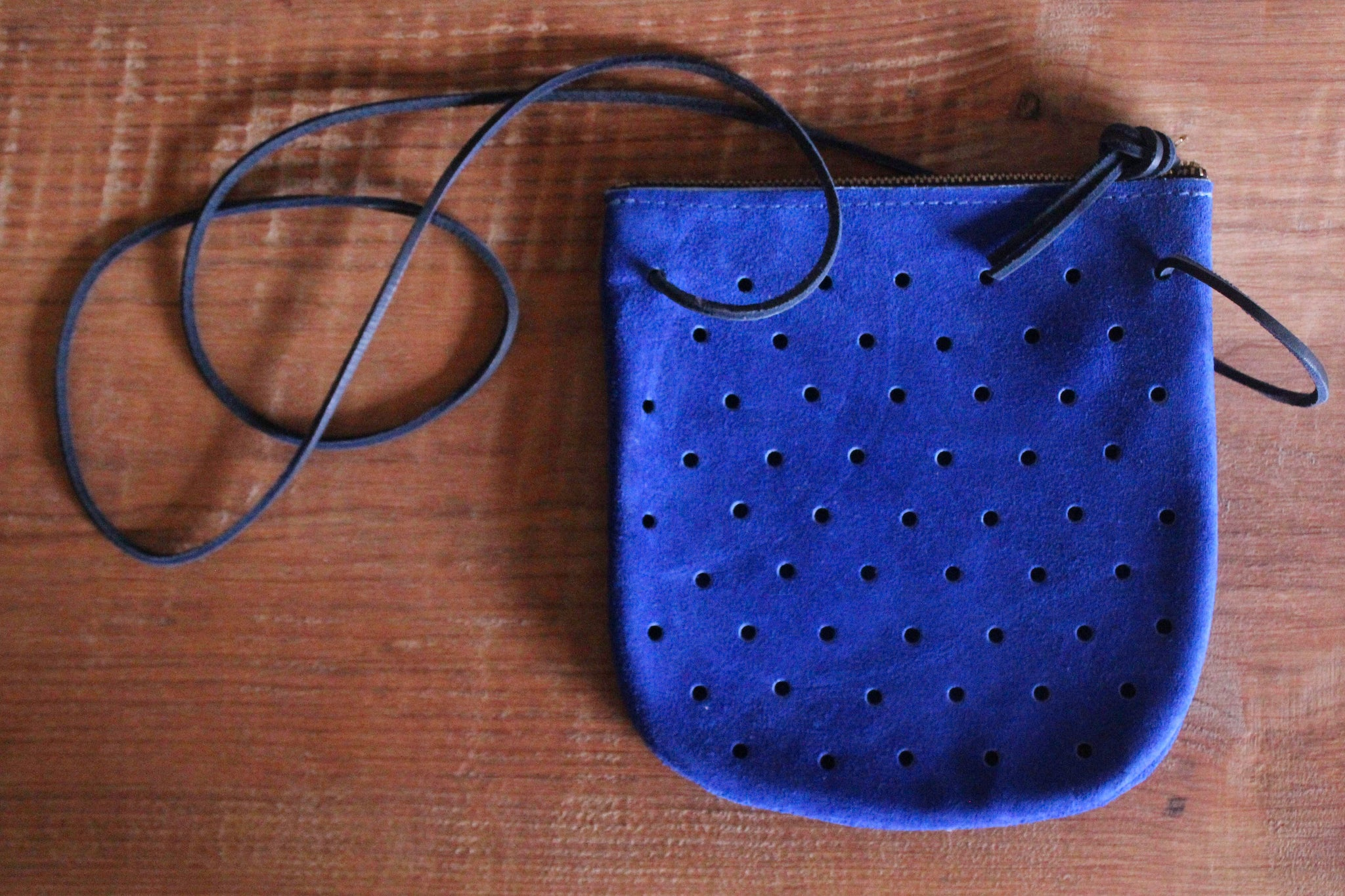 Pine + Boon Perforated Leather Bag
