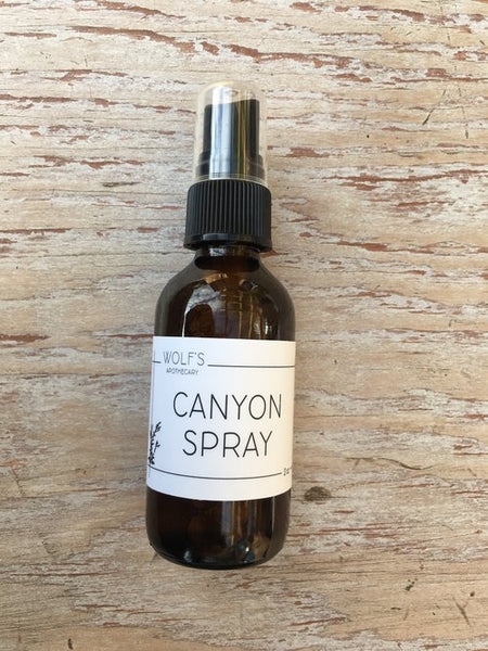 Wolf's Apothecary Canyon Room Spray