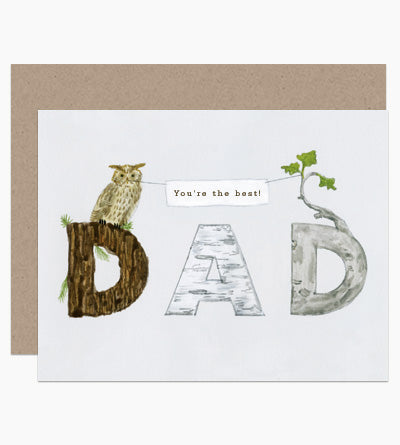 You're The Best Dad Card