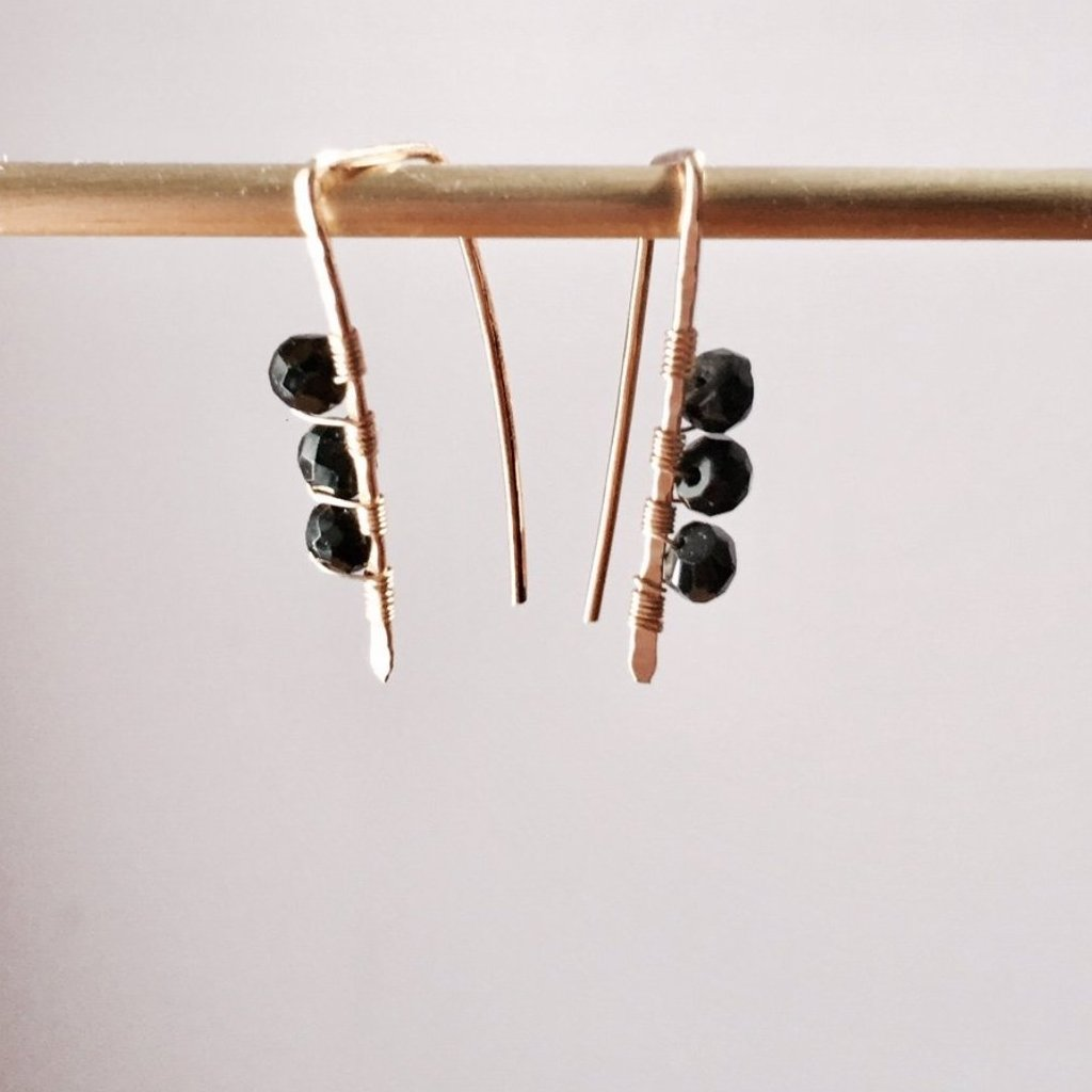 Mini Gemmy Pull Through Earrings