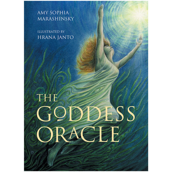 The Goddess Oracle Deck + Book Set