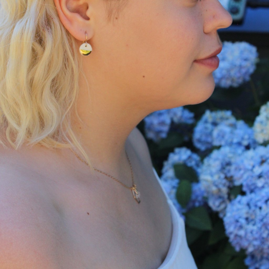 Zoe Comings Gold Earrings