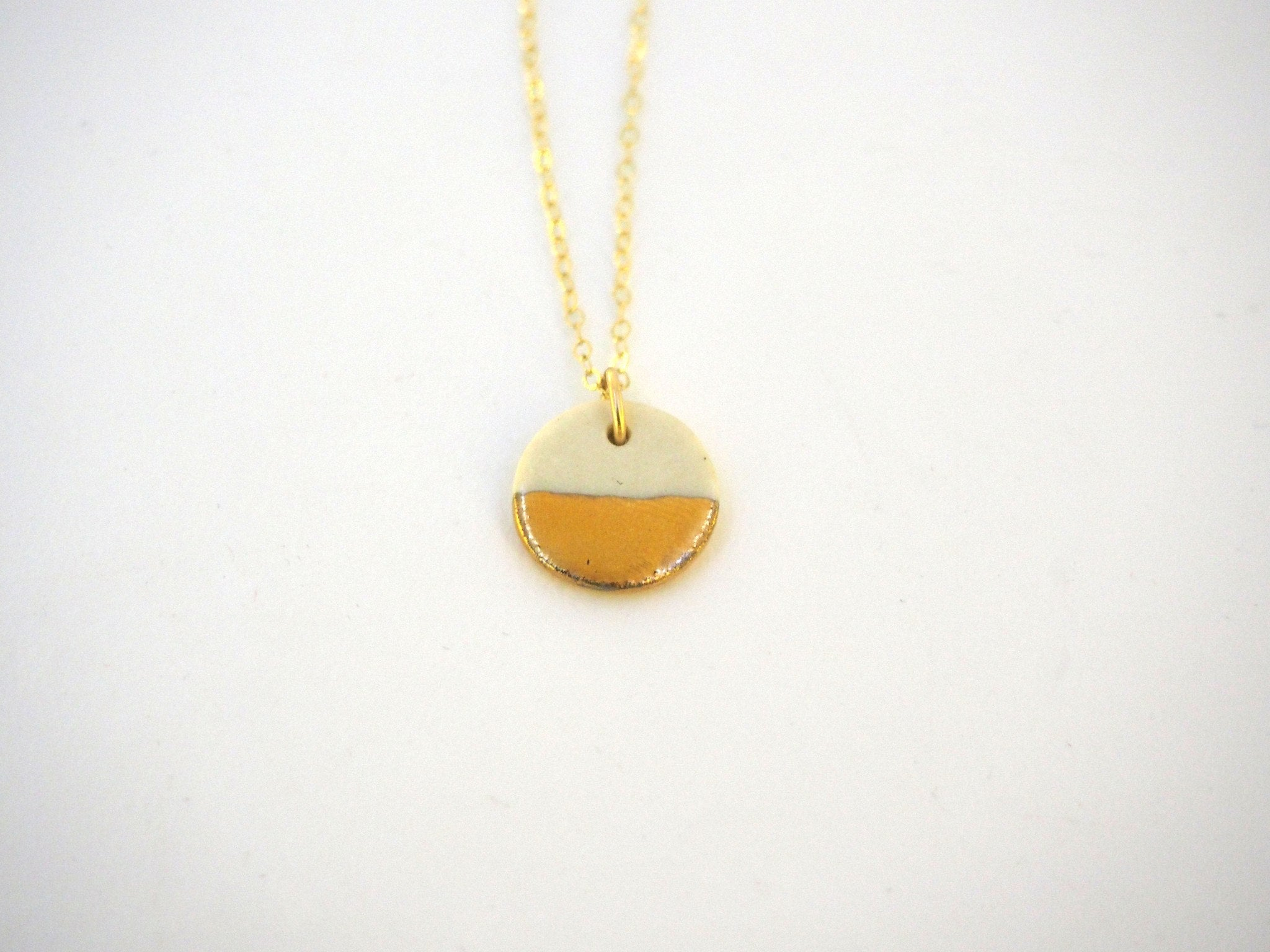 Tiny Pebble Necklace
