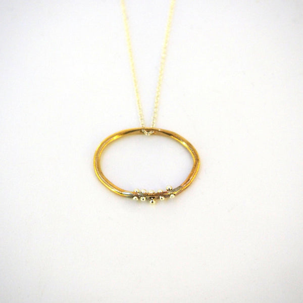 Organic Oval Necklace