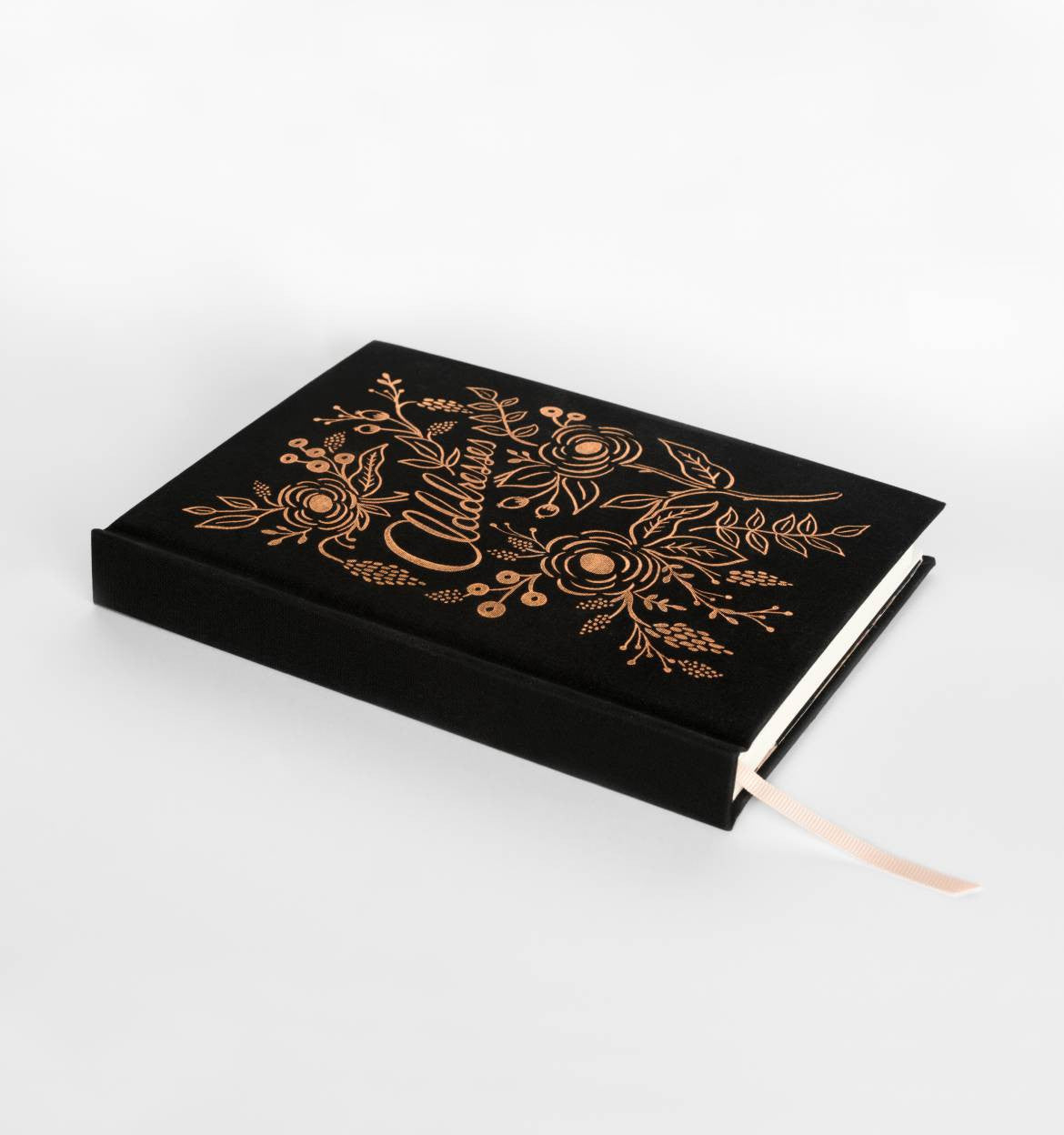Black & Gold Address Book