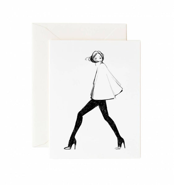 Garance Doré Cape Greeting Card