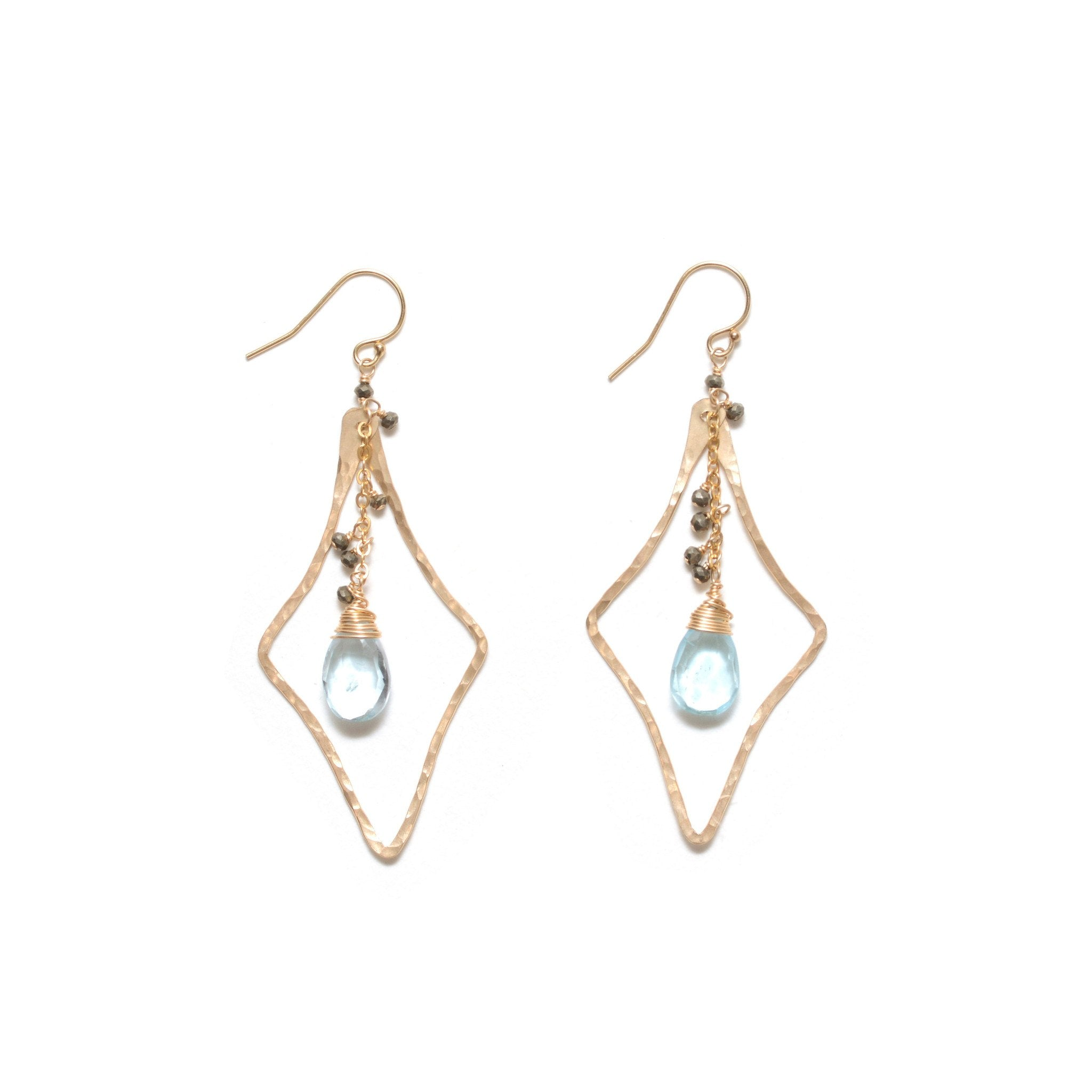 jeffrey blue product company jewelers topaz and earrings