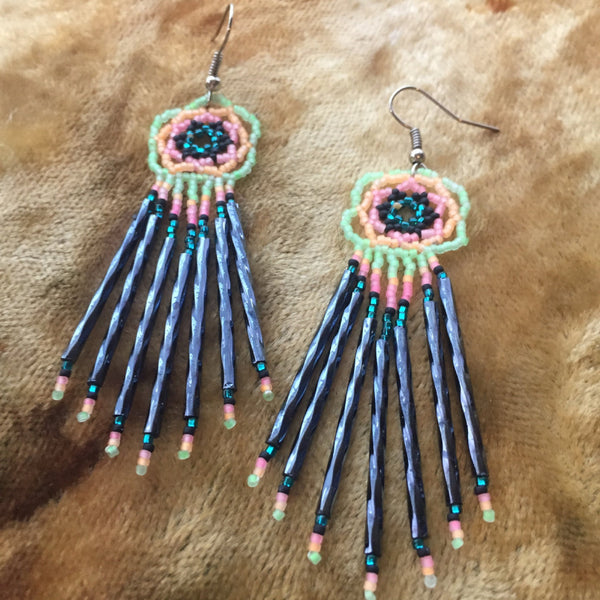Beaded Navaho Earrings