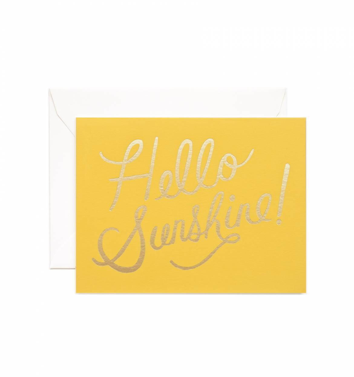 Hello Sunshine Card by Rifle Paper Co.