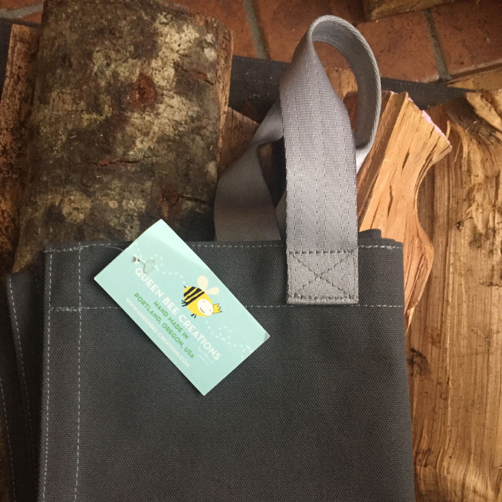 Canvas Log Carrier from Queen Bee