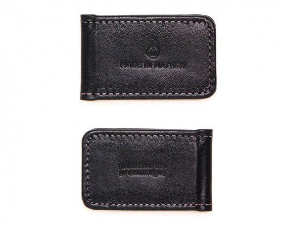 Leather Money Clip