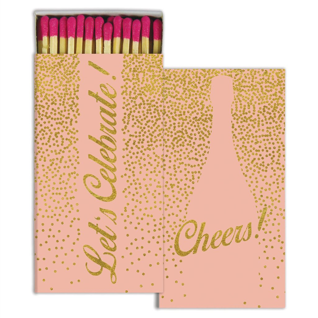 Celebration Gold Foil Matches