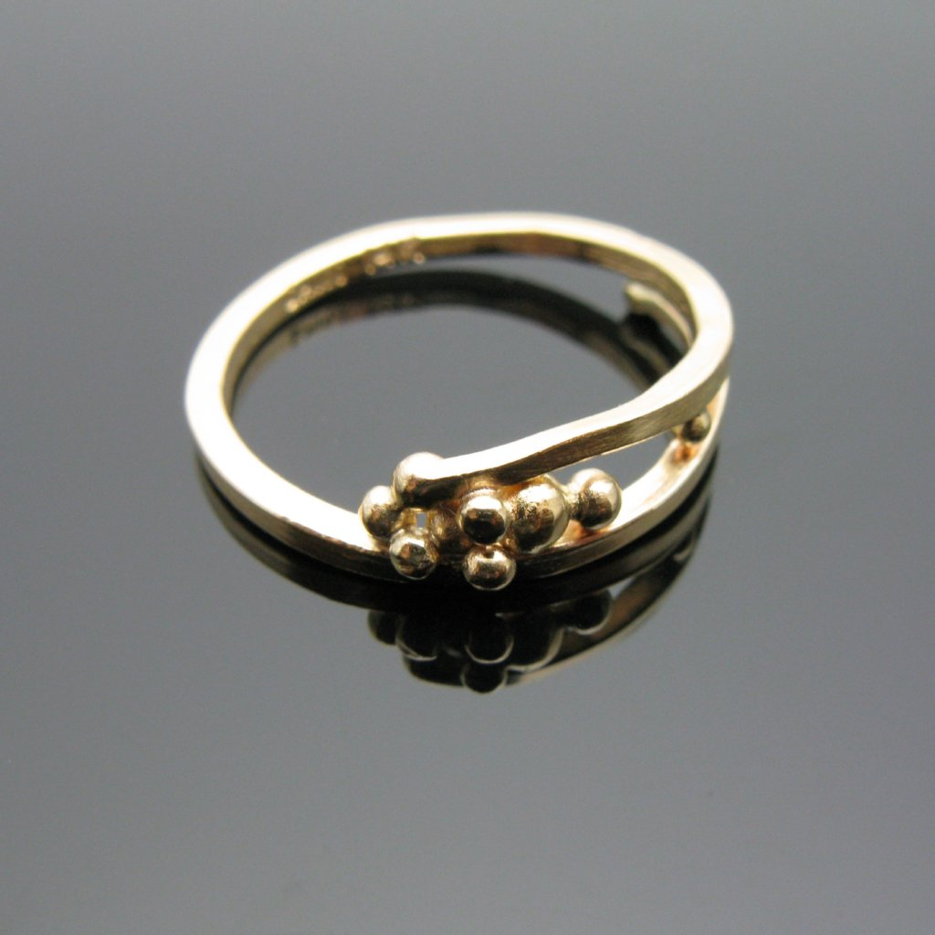 Saskia Moes 14k Gold Ring