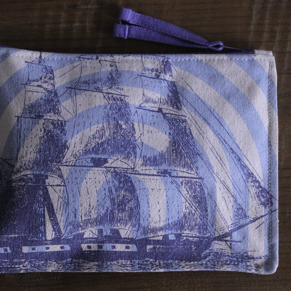 Thomas Paul Sailboat Zippered Pouch
