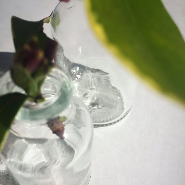 Tiny Glass Vase