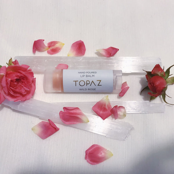 Topaz Wild Rose Lip Balm