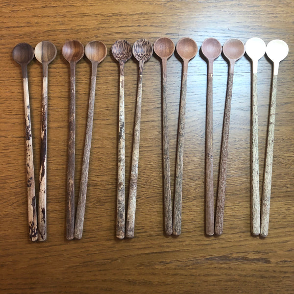 Long Handle Wooden Spoons