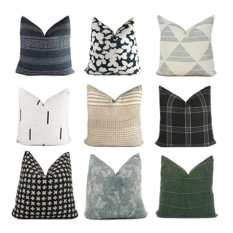 Designer Pillow Arrivals - Clay McLaurin Studios, Rose Tarlow, Zak + Fox