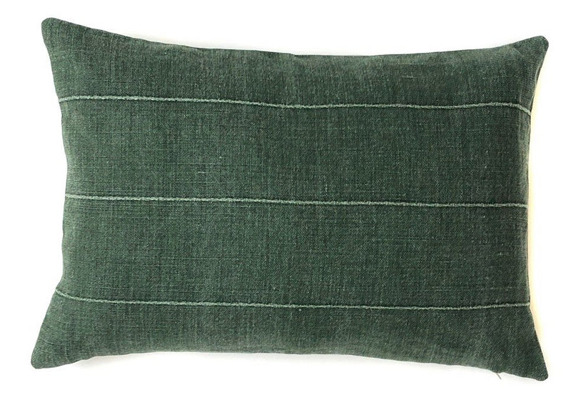 Vintage Green Pillow Cover | Designer Pillow | No 4051