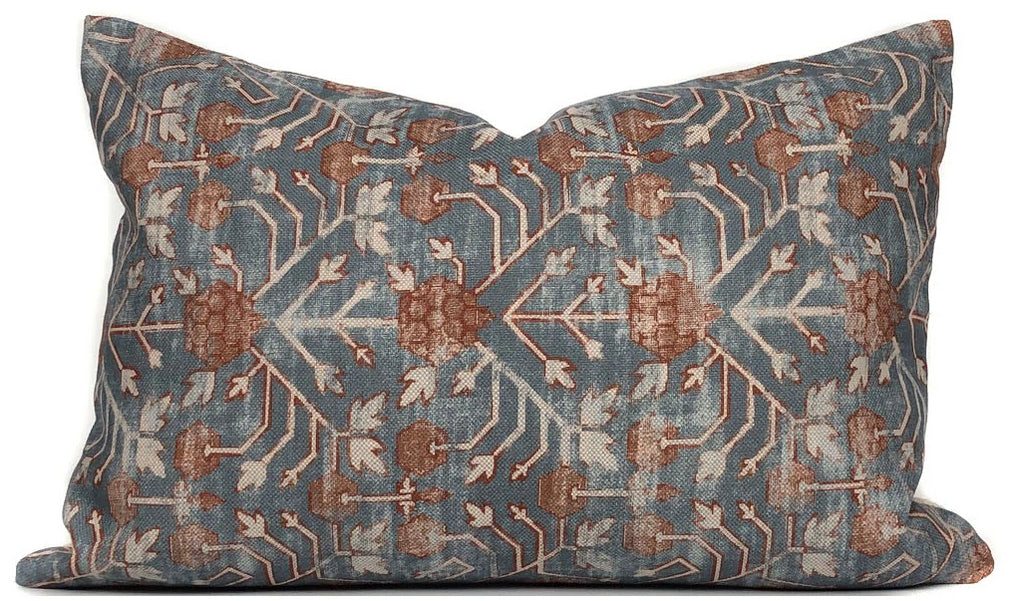 Zak + Fox Khotan Designer Pillow Cover in Rubia | No4061