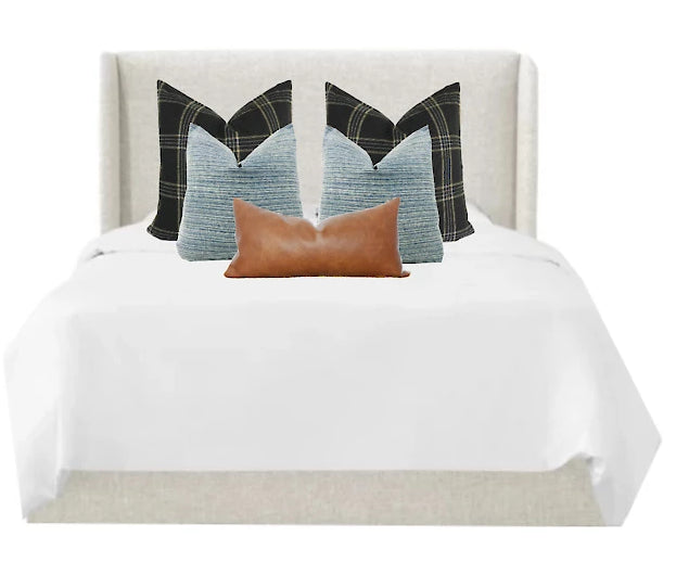 Williamsburg Bed Combo | 5 Pillows
