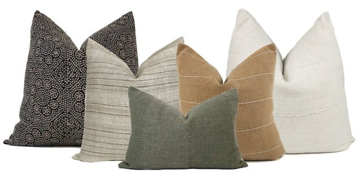 Neutral Sofa Pillow Combo #2