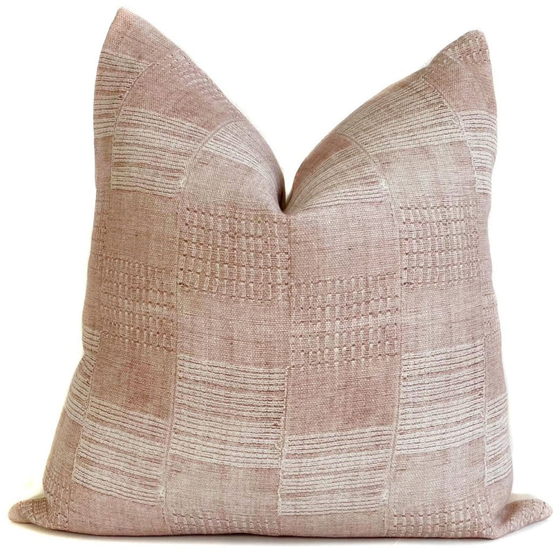 Astor Designer Pillow Cover | Blush