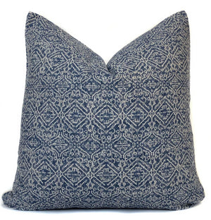Chiang Mai Blue Batik Pillow Cover | No9027